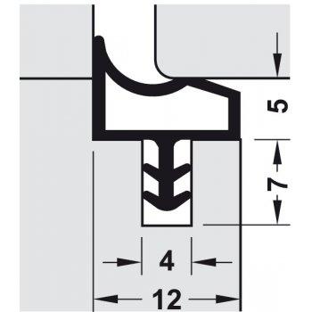Uszczelka M3967 Deventer Czarna 25m