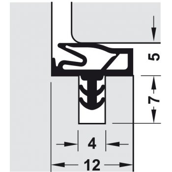 Uszczelka S 6577a Deventer Beżowa 25m