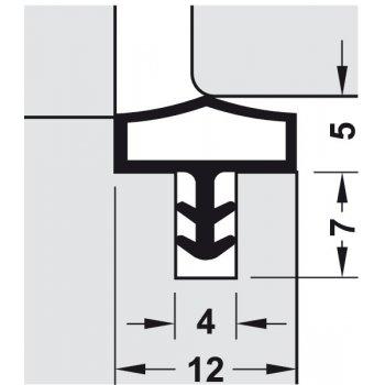 Uszczelka M 680 Deventer Czarna 25m