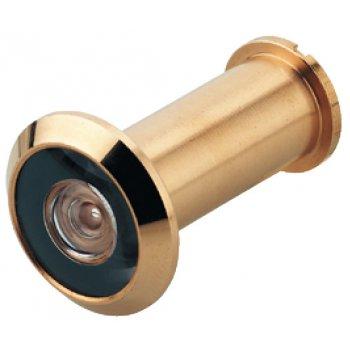 Wizjer drzwiowy StarTec fi 14mm (36-55mm) Mosiądz