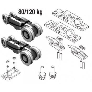System przesuwny Koblenz 500 New z ABSU 80kg