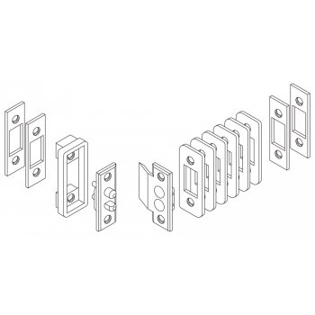 Styki elektryczne do elektrozaczepów 12V