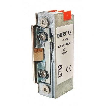 Elektrozaczep Dorcas 99-1ND524F-TOP z dźwignią Rewers 24V DC
